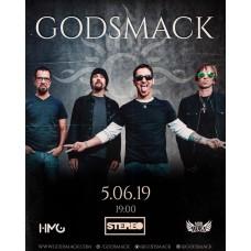 GODSMACK вперше виступить в Україні