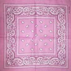 Бандана Огурцы Розовая