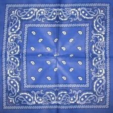 Бандана Огурцы Синяя