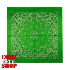 Бандана классическая, цвет зеленый