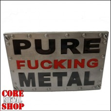 Ремень Pure Fucking Metal