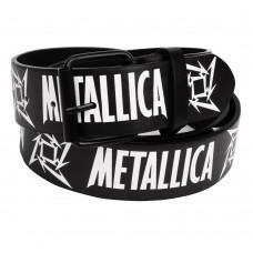 Ремень с печатью Metallica