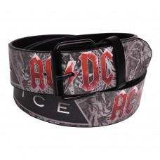 Ремень с печатью AC/DC - Black Ice