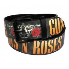 Ремень с печатью Guns`n'Roses