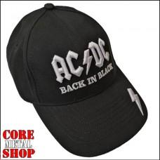 Бейсболка AC\DC - Back In Black