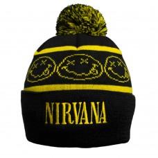 Шапка Nirvana c жаккардовым узором