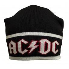 Шапка AC/DC с жаккардовым узором