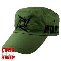 Кепка Metallica (оливковая)