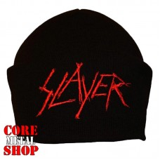 Шапка с вышивкой Slayer