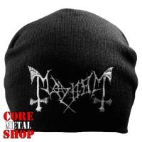 Шапка бини с вышивкой Mayhem