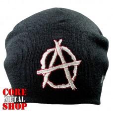 Шапка бини с вышивкой Anarchy