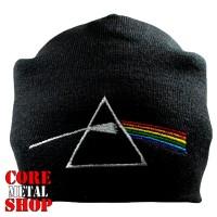 Шапка бини с вышивкой Pink Floyd