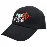 Бейсболка Punks Not Dead (anarchy)