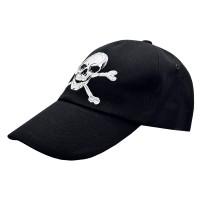 Бейсболка Пиратский череп