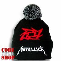 Шапка Metallica c жаккардовым узором