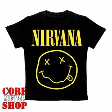 Детская футболка Nirvana - Smile