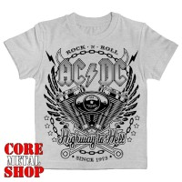 Детская футболка AC/DC (since 1973) меланж