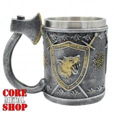 Кружка Геральдический щит с волком