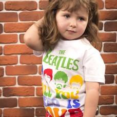 Детская Футболка The Beatles White