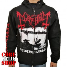 Толстовка Mayhem - Deathcrush