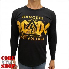 Лонгслив AC/DC - Danger High Voltage
