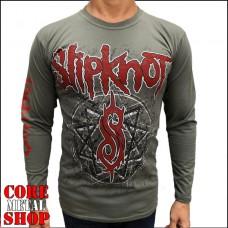 Лонгслив Slipknot (олива)