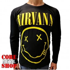 Лонгслив Nirvana