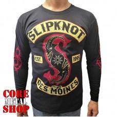 Лонгслив Slipknot - Des Moines