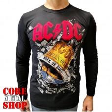 Лонгслив AC/DC Hell's Bell колокол