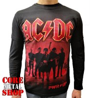 Лонгслив AC/DC - PWR/UP