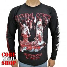 Лонгслив Cannibal Corpse - Butchered At Birth Shirt