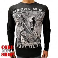 Лонгслив No Heaven, No Hell Just Death