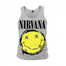 Майка Nirvana цвет меланж