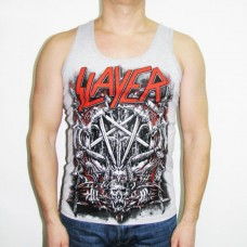 Майка Slayer Pentagram Gray