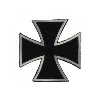 Нашивка вышитая Мальтийский крест