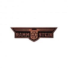 Нашивка вышитая Rammstein вырезанная