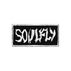 Нашивка вышитая Soulfly White Logo