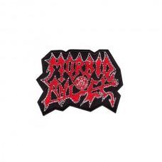 Нашивка вышитая Morbid Angel