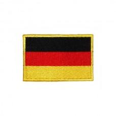 Нашивка вышитая Флаг Германии