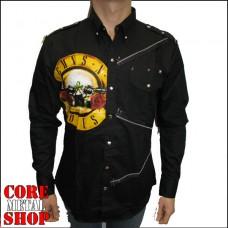 Рубашка Guns n'Roses (жёлтое лого)