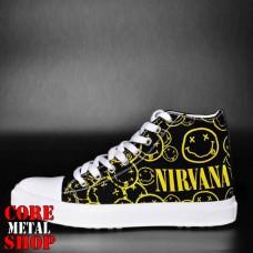 Кеды Rock Shoes - Nirvana