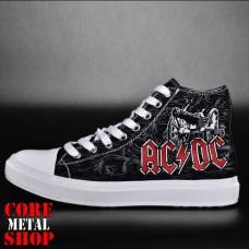 Кеды Rock Shoes  - AC/DC