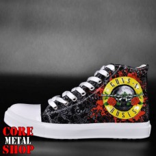 Кеды Rock Shoes - Guns n Roses