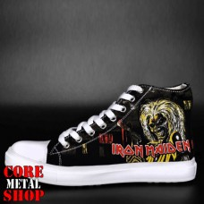 Кеды Rock Shoes - Iron Maiden