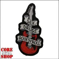 Нашивка вышитая Sex Drugs Rock`n`Roll
