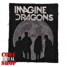 Нашивка вышитая Imagine Dragons