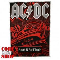 Нашивка вышитая AC/DC (на всю спину)