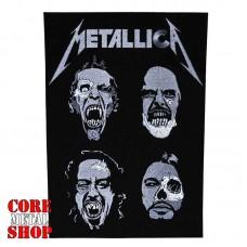 Нашивка наспинная Metallica (faces)