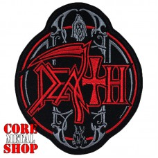 Нашивка Death (круглая)