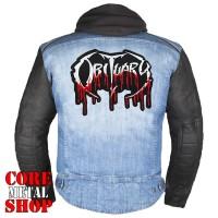 Нашивка термо Obituary (logo)